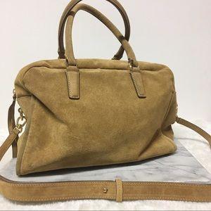 Banana Republic Cowhide Leather Bag Tan